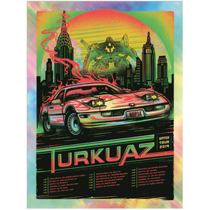 Turkuaz - Car Foil Winter 2019 1/23-2/16 Poster