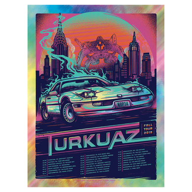 Turkuaz - Fall Tour Poster (2018)