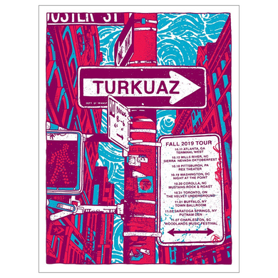 Turkuaz - Fall 2019 Tour Poster