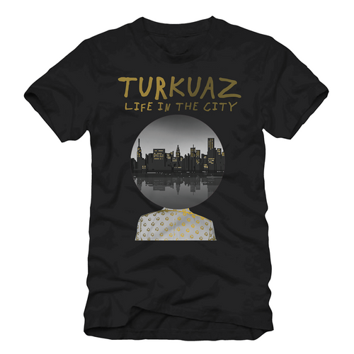 Turkuaz - Black Album T-Shirt