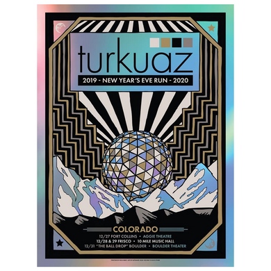 Turkuaz - 2019 NYE Run 2020 Poster
