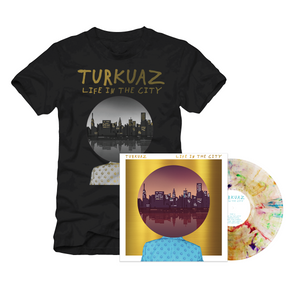 NEW: Turkuaz - Life In The City Vinyl Bundle w/ Black Album T-Shirt