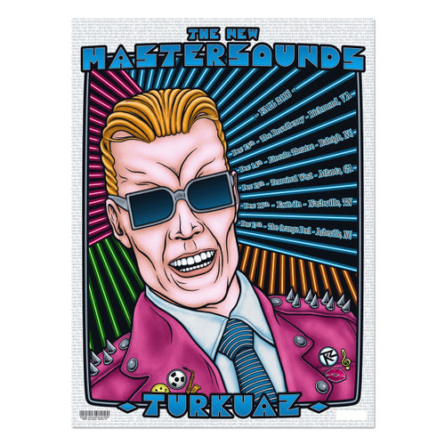 Turkuaz - Max Headroom Southeast Tour Poster