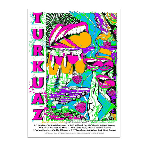 Turkuaz - West Coast Tongue Poster