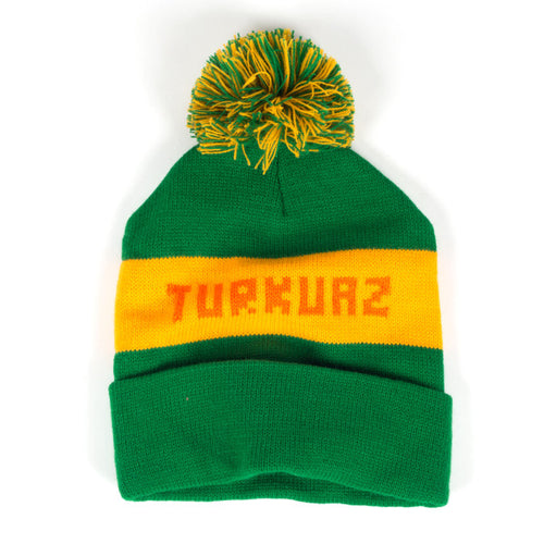 Turkuaz - Old School Pom Beanie