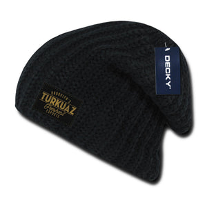 Turkuaz - Patch Beanie - Black