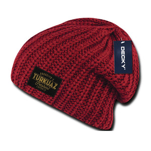 Turkuaz - Patch Beanie - Red