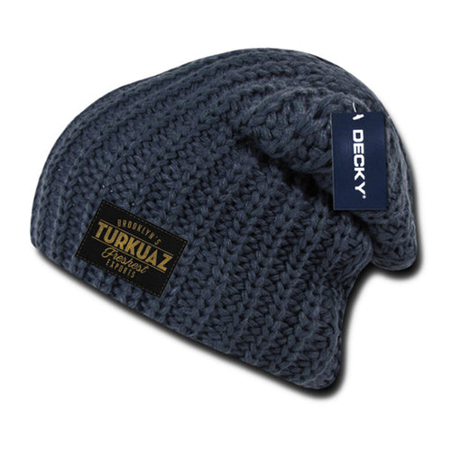 Turkuaz - Patch Beanie - Grey