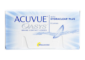 ACUVUE OASYS WITH HYDRACLAR®PLUS
