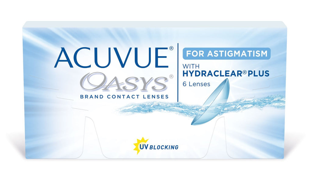 ACUVUE OASYS FOR ASTIGMATISM WITH HYDRACLAR®PLUS