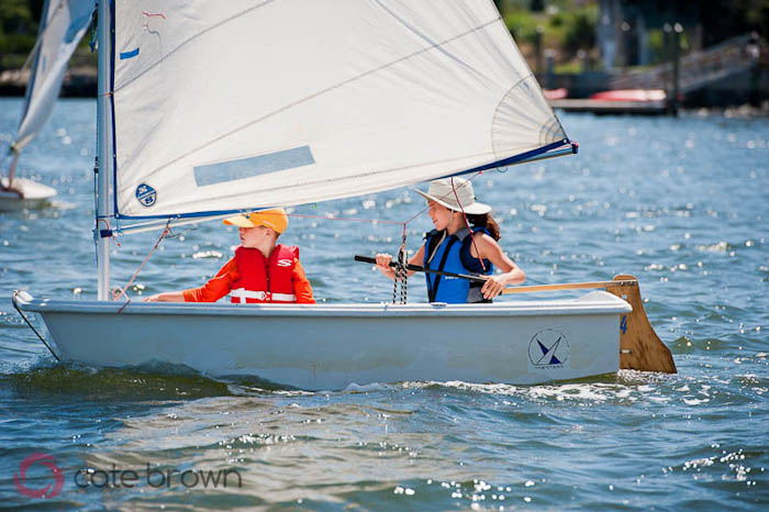 Junior Sailors at Summer's End