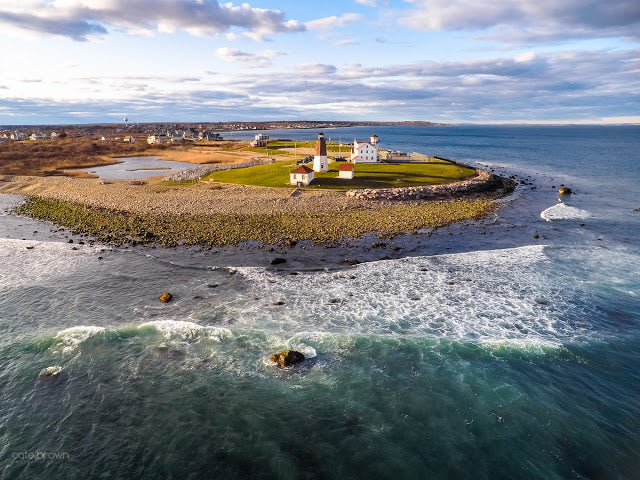 Aerials & Stars at Point Judith Light