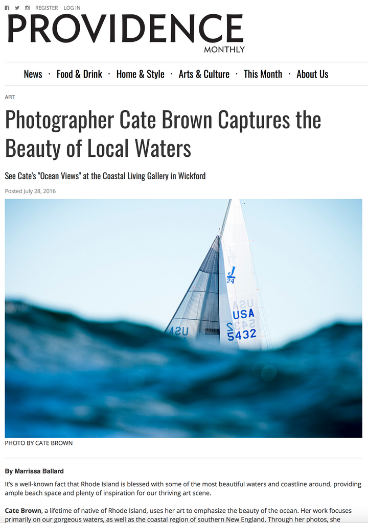 Cate Brown Photography Artist Interview Ocean