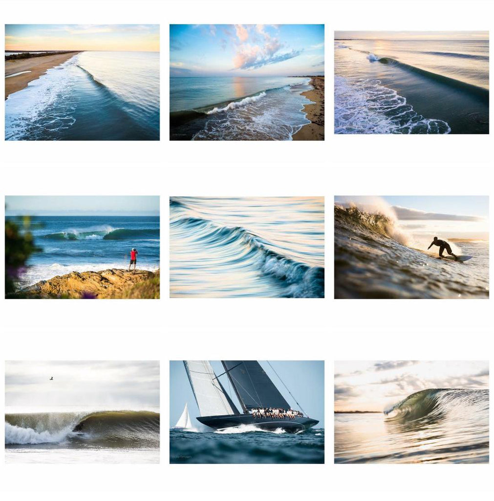 Cate Brown Ocean Fine Art Photography Aerial Outdoor Coastal Surf Sailing