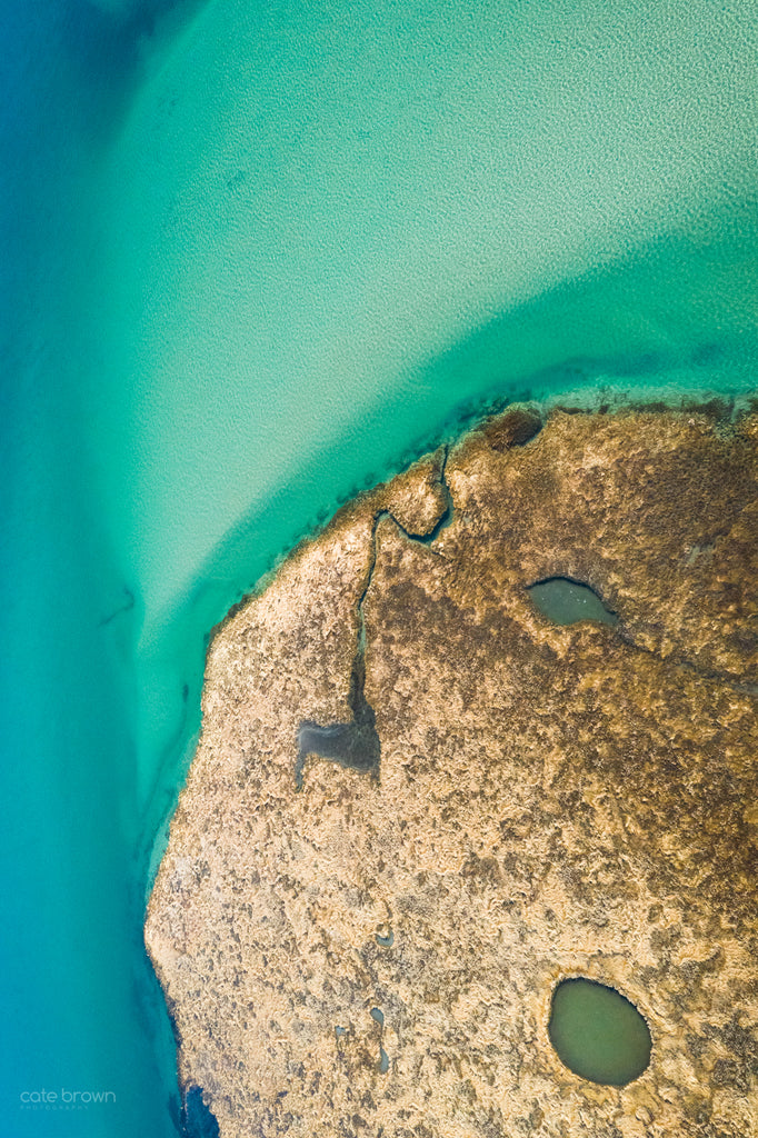 Cate Brown Fine Art Ocean Photography Aerial Drone Coastal Maine
