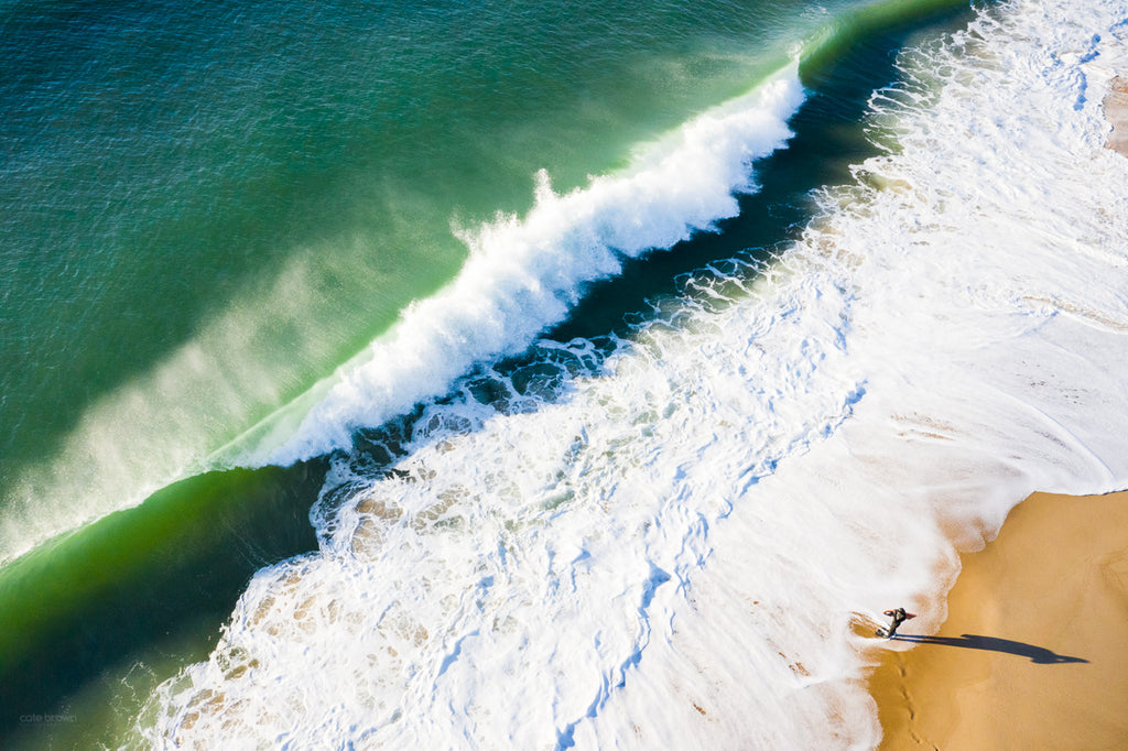 Cate Brown Fine Art Ocean Photography Coastal Beach Drone Aerial