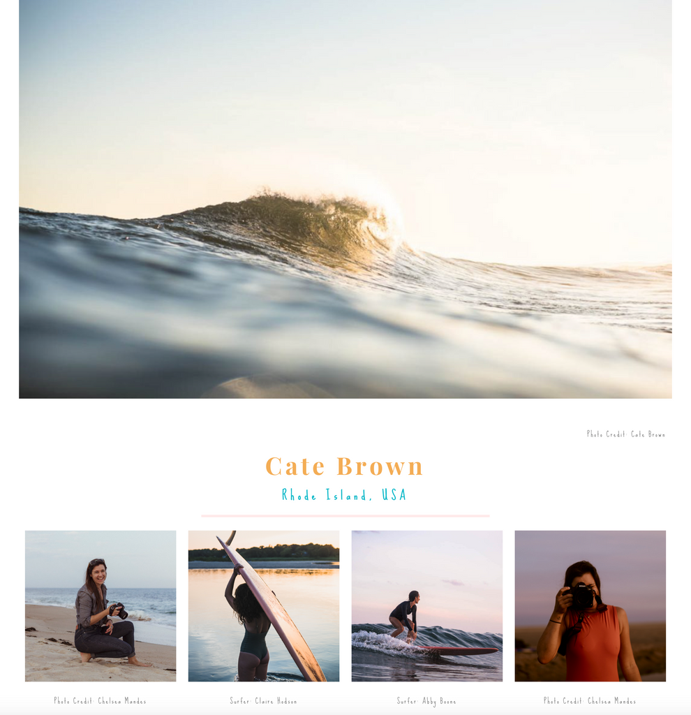 The Ocean is Female Surf Photographers
