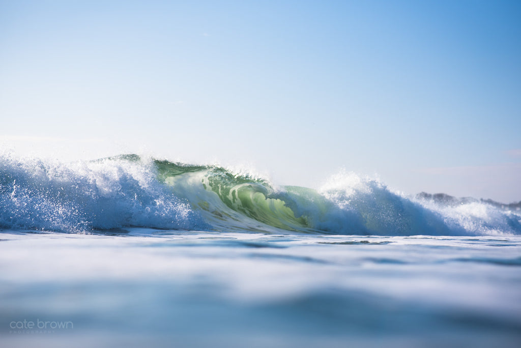 Cate Brown Ocean Fine Art Water Wave Surf Photography