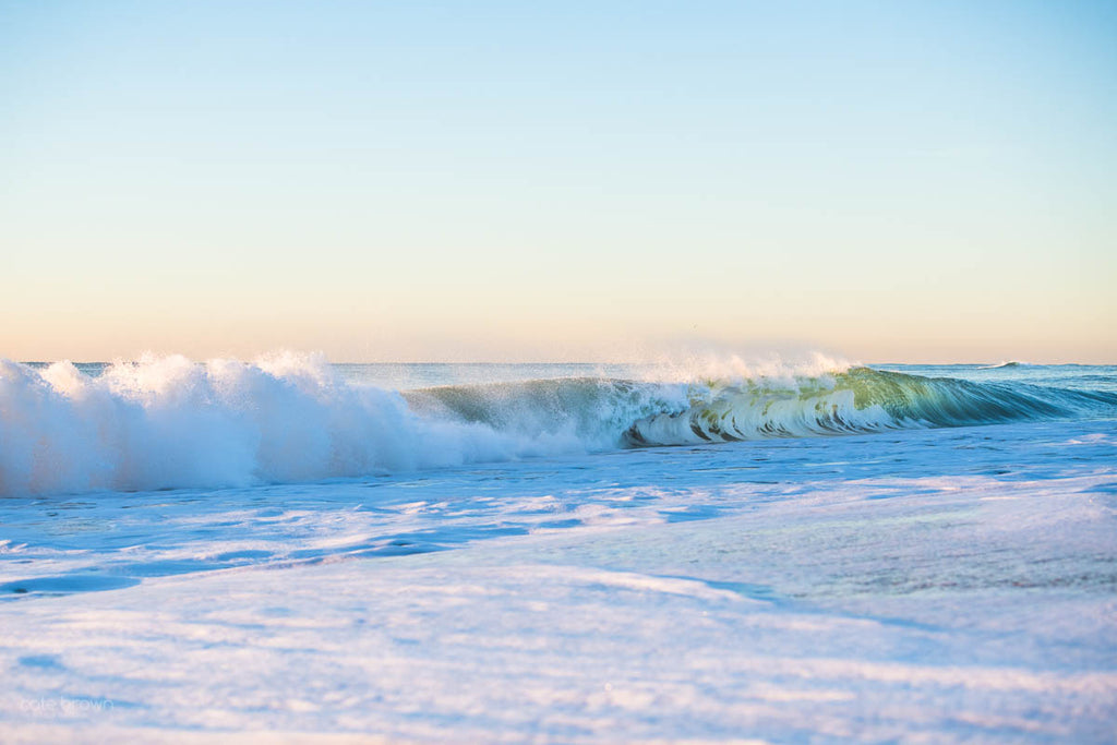 Cate Brown Fine Art Ocean Photography Wave Shorebreak Rhode Island