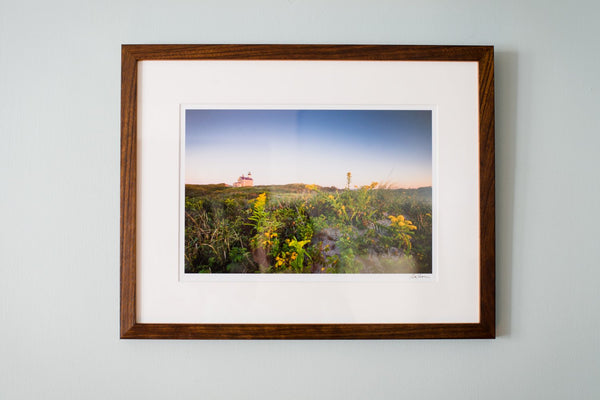 "Cate Brown Photo North Light in the Dunes // Framed Fine Art 14x18"" // Open Edition Available Inventory Ocean Fine Art"