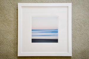 "Cate Brown Photo Narragansett Abstract #2 // Framed Fine Art 20x20"" // Limited Edition 1 of 100 Available Inventory Ocean Fine Art"