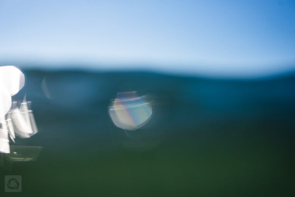 Bokeh Blue #3  //  Abstract Photography