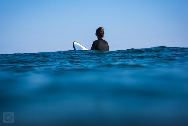 Cate Brown Photo Abby Surfing Chris  //  Surf Photography Made to Order Ocean Fine Art