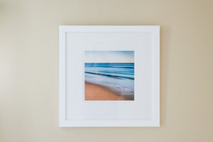 "Cate Brown Photo Green Hill Abstract #11 // Framed Fine Art 20x20"" // Limited Edition 1 of 100 Available Inventory Ocean Fine Art"