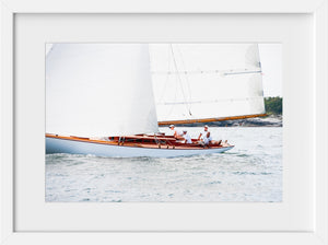 Amorita Sailing #2  //  Nautical Photography
