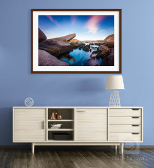 Cate Brown Photo Arbolito Seascape #2  //  Landscape Photography Made to Order Ocean Fine Art