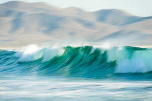 Cate Brown Photo Baja Waves #7  //  Ocean Photography Made to Order Ocean Fine Art