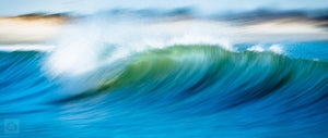 Cate Brown Photo Barreling Blue  //  Ocean Photography Made to Order Ocean Fine Art