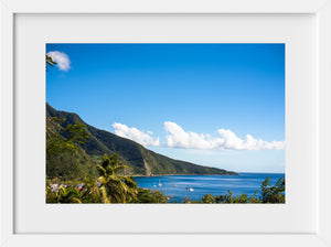 Cate Brown Photo Basse Terre in the Sun  //  Landscape Photography Made to Order Ocean Fine Art