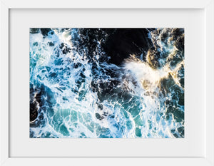 Cate Brown Photo Beavertail #4  //  Aerial Photography Made to Order Ocean Fine Art