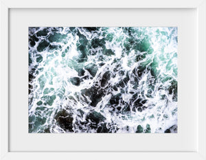 Cate Brown Photo Beavertail #6  //  Aerial Photography Made to Order Ocean Fine Art