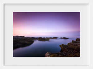 Beavertail at Sunrise  //  Seascape Photography