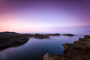 Cate Brown Photo Beavertail at Sunrise  //  Seascape Photography Made to Order Ocean Fine Art