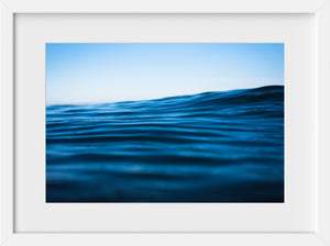 Blue Corduroy  //  Ocean Photography