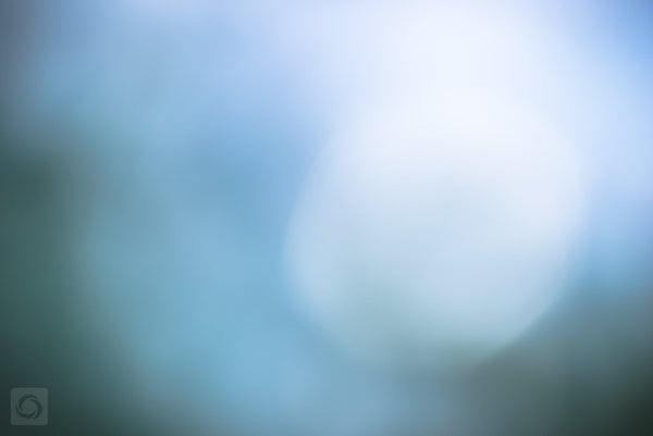 Bokeh Blue #12  //  Abstract Photography
