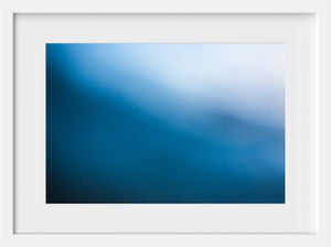 Cate Brown Photo Bokeh Blue #13  //  Abstract Photography Made to Order Ocean Fine Art