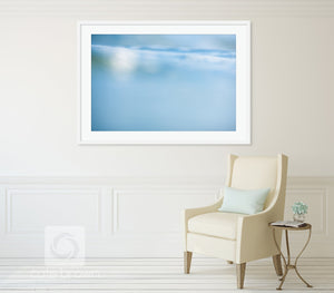 Cate Brown Photo Matunuck Bluescape  //  Abstract Photography Made to Order Ocean Fine Art