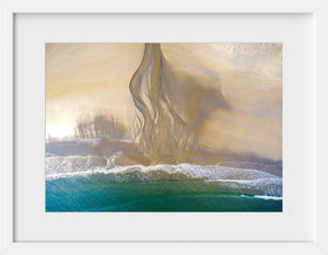 Cate Brown Photo Bonnet #1  //  Aerial Photography Made to Order Ocean Fine Art