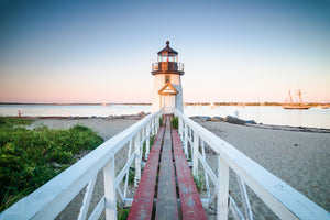 Brant Point Light at Dusk  //  Landscape Photography