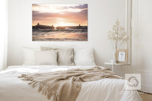 Cate Brown Photo Cabana Sunset  //  Seascape Photography Made to Order Ocean Fine Art