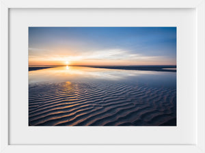 Cate Brown Photo Cape Cod at Sunset  //  Seascape Photography Made to Order Ocean Fine Art