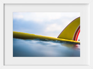 Cate Brown Photo Claire's Yellow Board  //  Surf Photography Made to Order Ocean Fine Art