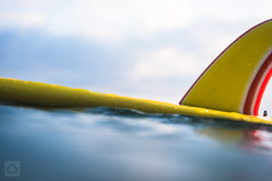 Claire's Yellow Board  //  Surf Photography
