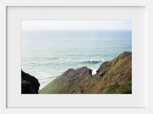 Cate Brown Photo Cliffs of Moher #4  //  Film Photography Made to Order Ocean Fine Art