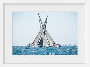Cate Brown Photo Crossing Tacks  //  Nautical Photography Made to Order Ocean Fine Art