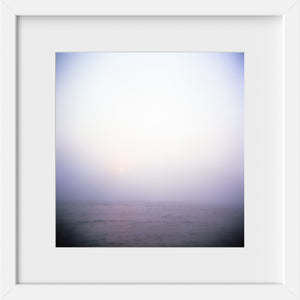 Cate Brown Photo Cruising Through the Fog #1  //  Film Photography Made to Order Ocean Fine Art